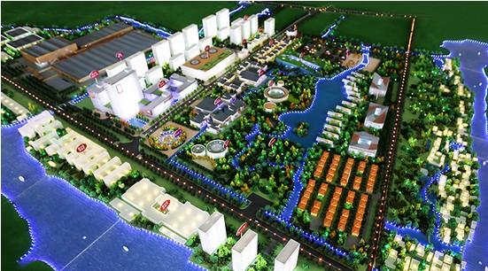 平面设计图小镇