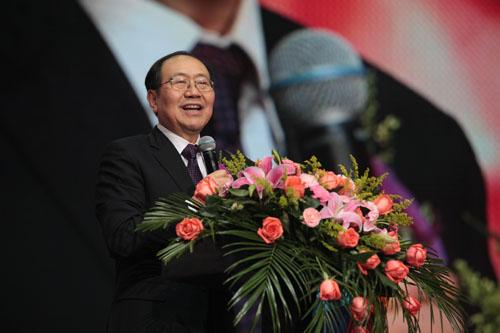中脉董事长王尤山致辞