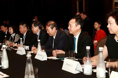 新西兰总理John Key接见APEC中国工商理事会访新企业家代表
